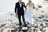 cobourg beach wedding